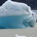 Bloc détaché du glacier