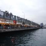 le pont de Galata à deux niveaux