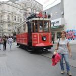 le tram Tünel - Taksim