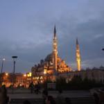 Yeni camii, la mosquée neuve, féérique