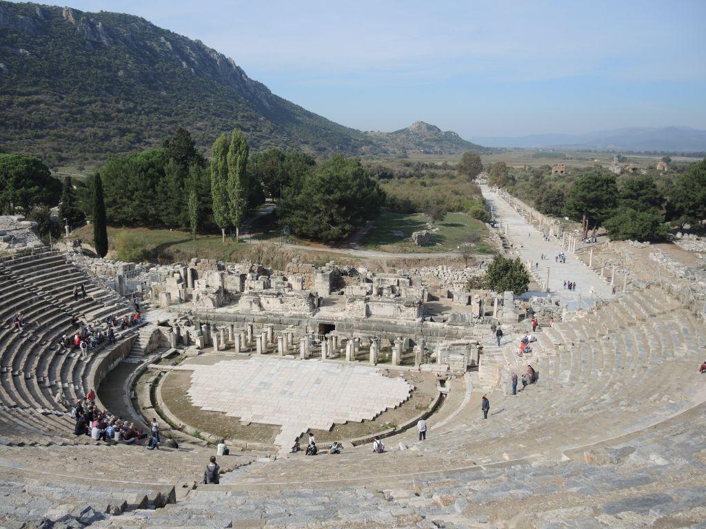 Ephèse : le site archéologique