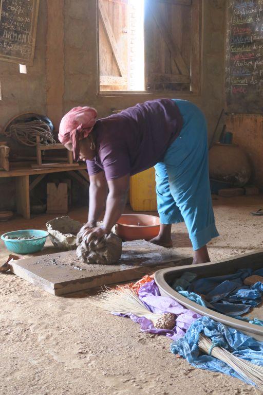 Poterie à Sé au Bénin
