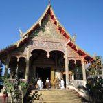 visite du temple en attendant