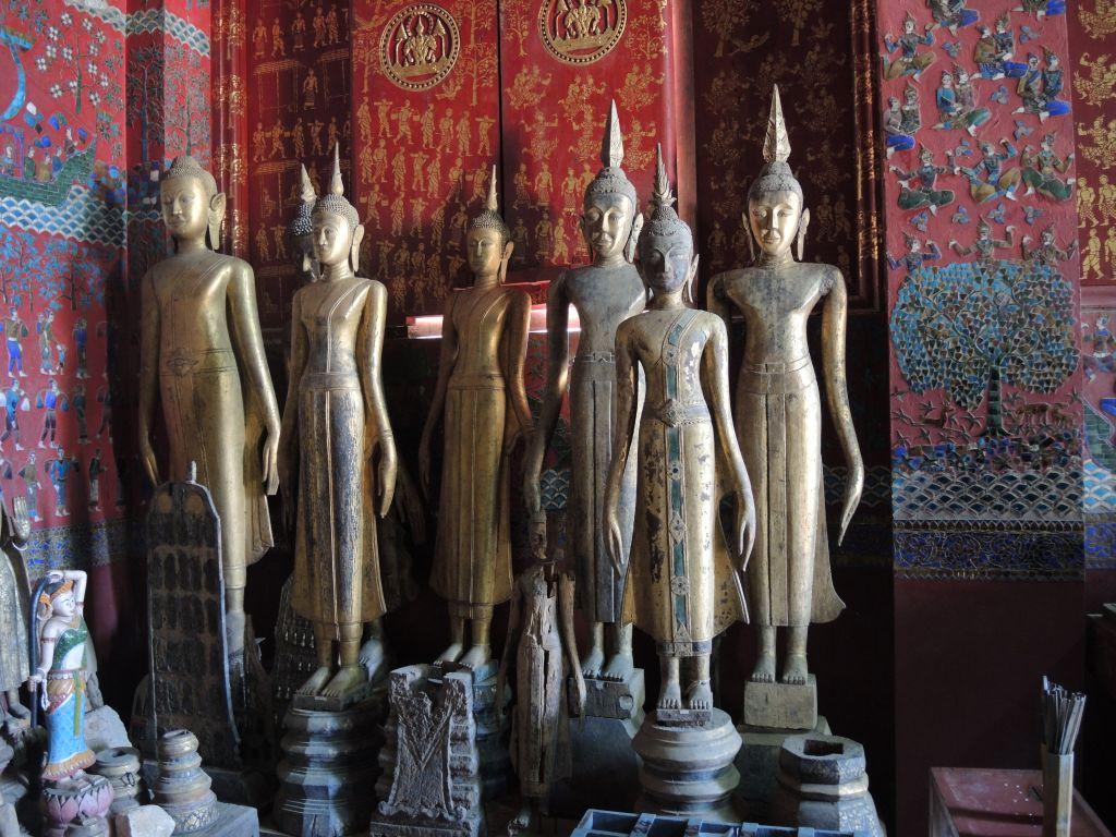 les bouddhas de Wat Xieng Thong