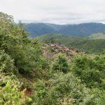 village Akha en vue