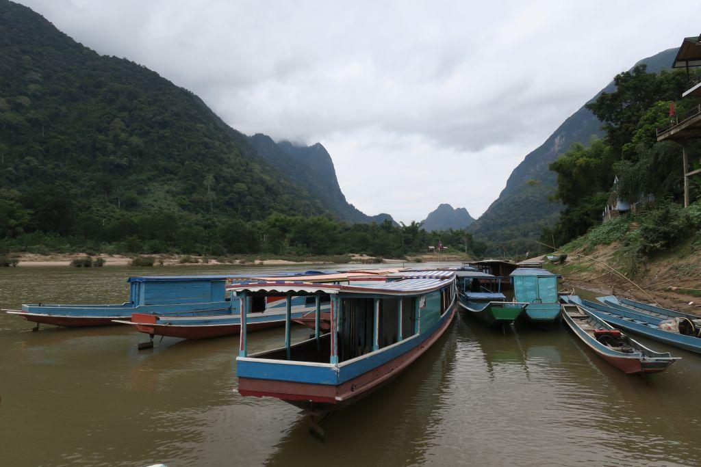 arrivée à Muang Ngoi