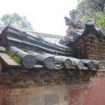 détail de toiture