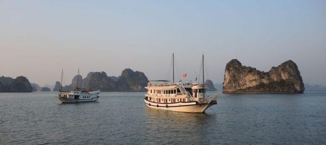 la baie d'Halong et Tam Coc