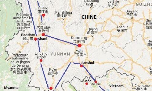 Périple en Chine – Vietnam – Thaïlande