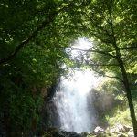 la cascade du Léziou peu avant Salau
