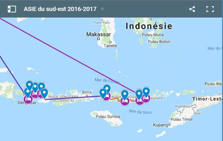 Carte indonesie icone
