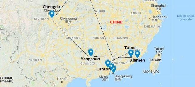 CHINE, second voyage nov-déc 2018