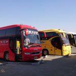Arrivée en bus VIP à Sanandaj