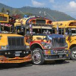 bus scolaires recyclés