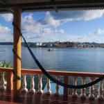 île de Flores vue de notre hôtel