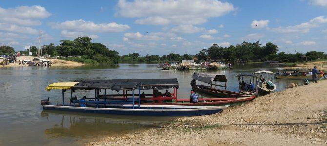 Sayaxché et le rio Pasión