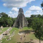 temple 1 vu depuis le haut du temple 2