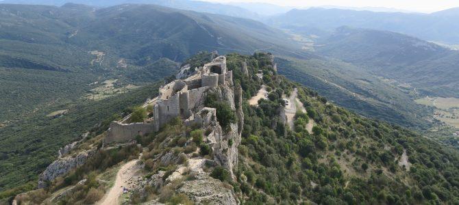 Sur la route des Châteaux du Pays Cathare